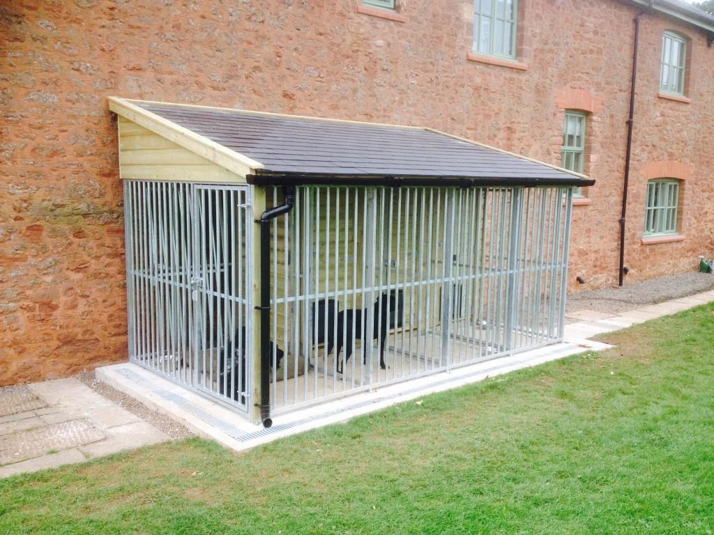 slate roof kennels