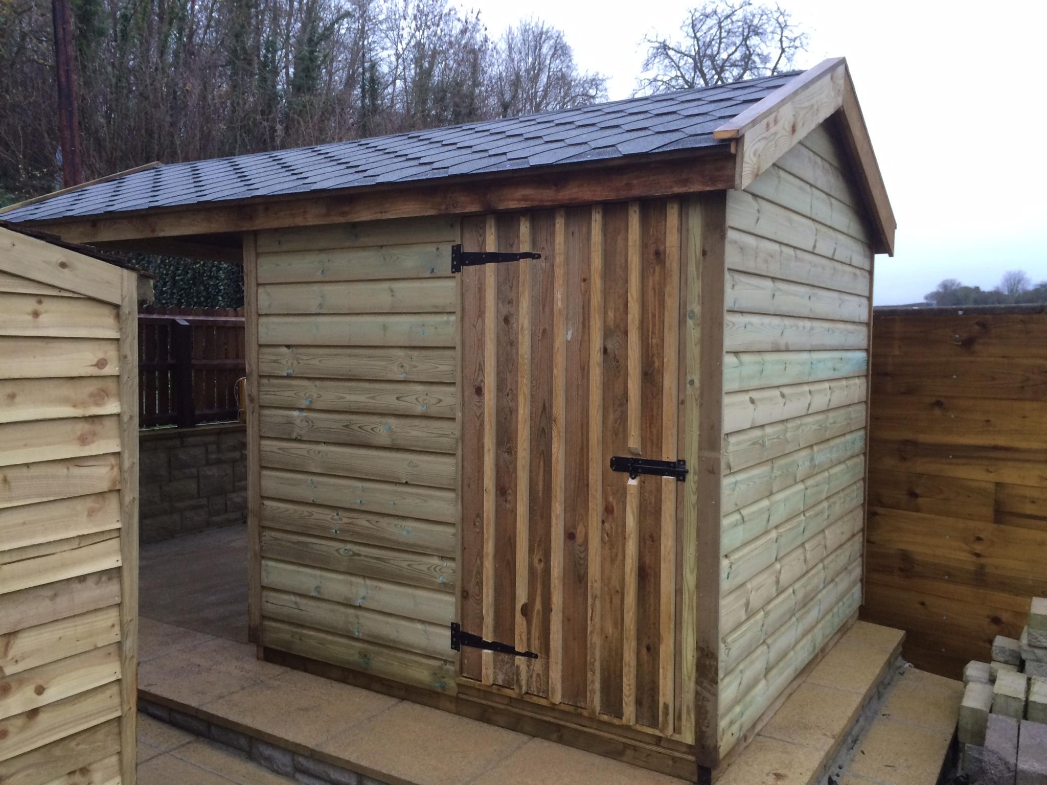 Log Stores The Wooden Workshop Oakford Devon