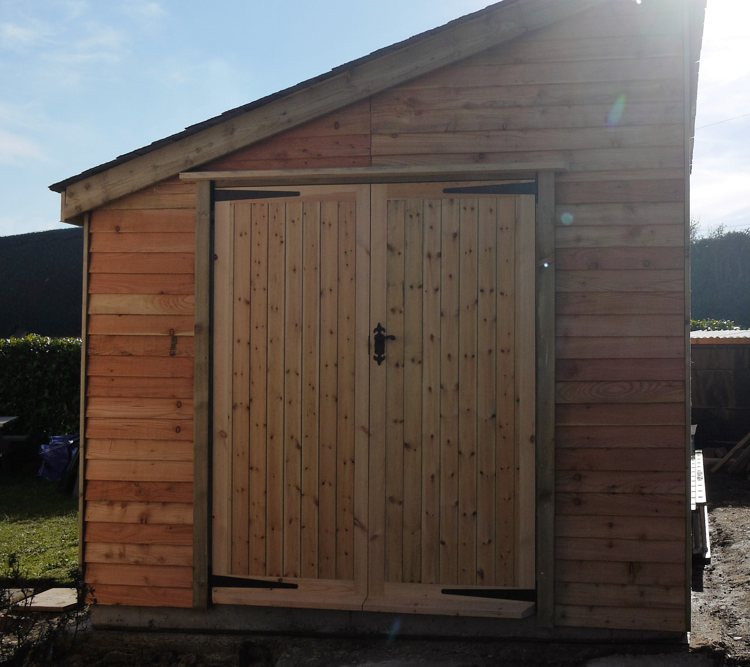 Surf Board Storage Shed The Wooden Workshop Oakford Devon