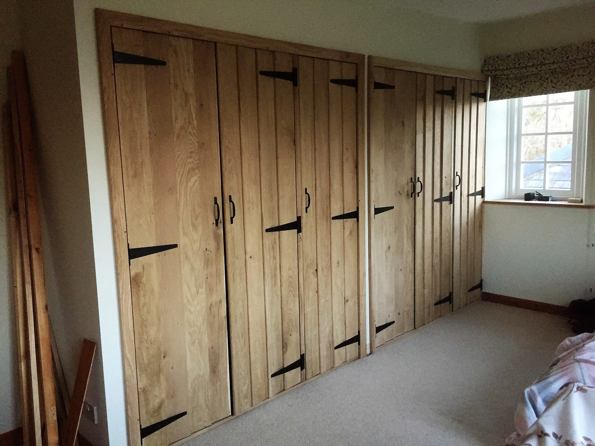 Oak Cupboard Doors The Wooden Workshop Oakford Devon