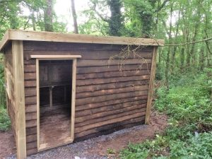 Bird Hide -The Wooden Workshop Oakford Devon