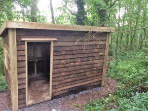 Bird Hide -The Wooden Workshop Oakford Devon