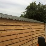 Timber Garage - The Wooden Wokrshop Oakford Devon