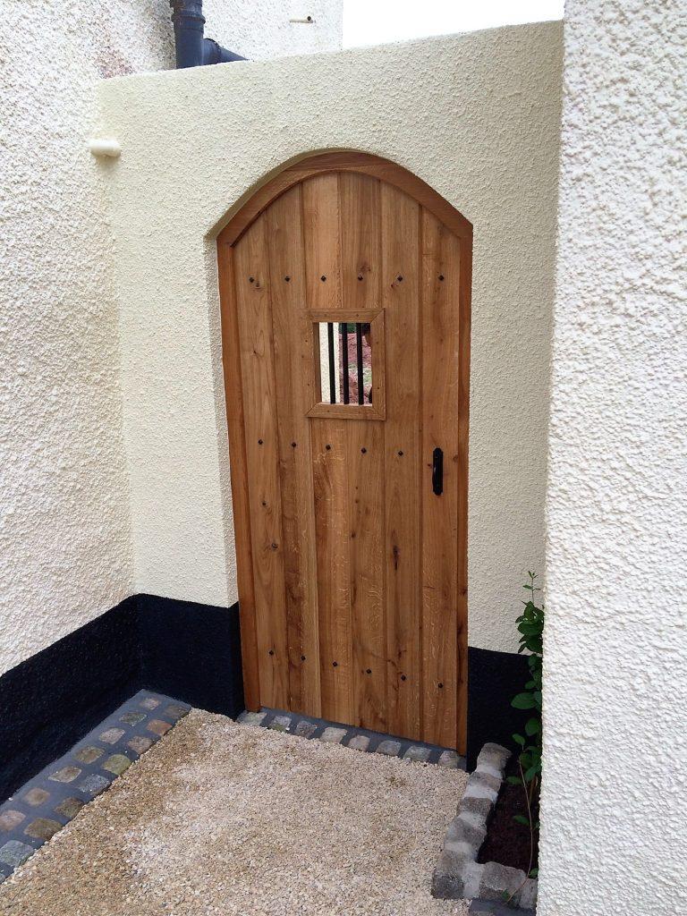Oak Gothic Gate