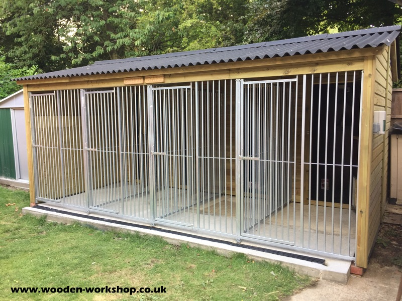 Insulated Dog Kennel Block The Wooden Workshop Oakford
