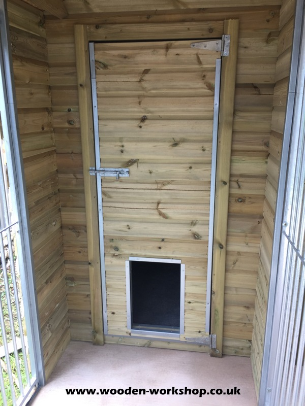 Double Kennel Unit The Osprey The Wooden Workshop