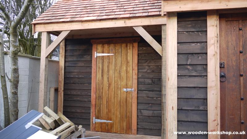 Timber Garage The Wooden Workshop Oakford Devon