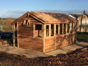 Cedat Shingle Potting shed