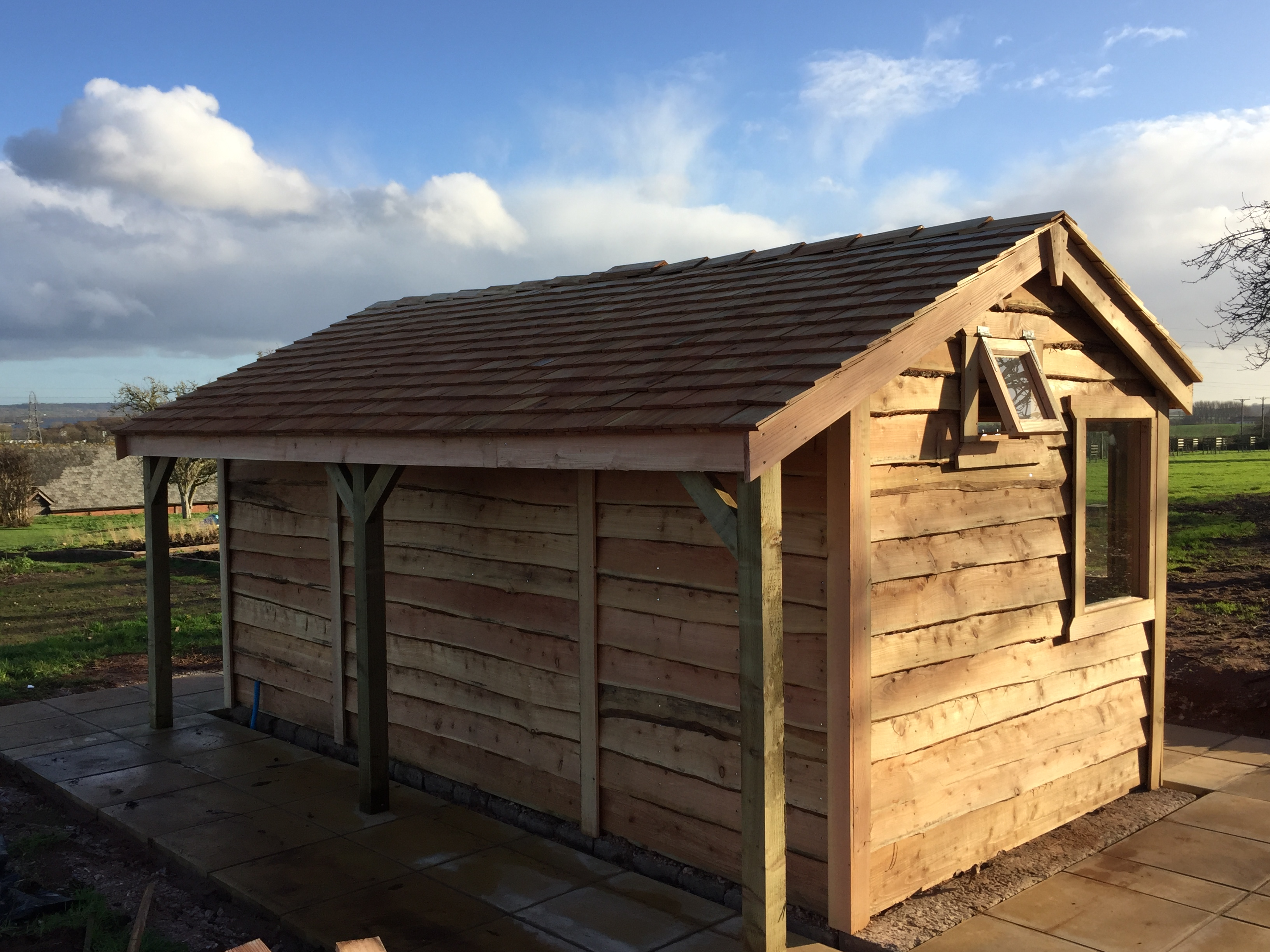Cedar Shingle Potting Shed The Wooden Workshop Oakford