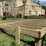 Potting Shed Base Frame Works - The Wooden Workshop Devon