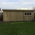 Storage Shed - The Wooden Workshop Devon