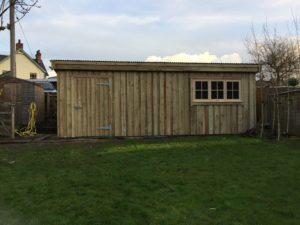 Storage Shed - The Wooden Workshop Devon