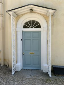 Hardwood front door Sapele=The Wooden Workshop Devon