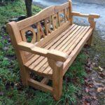 Large letter named bench - The Wooden Workshop Bampton Devon